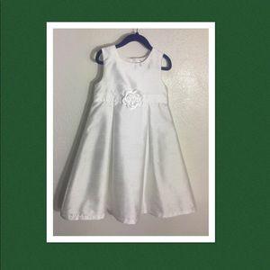 Carter's Formal Dress, Girls Size 6, Sheer White